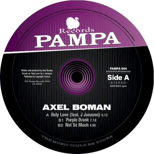 Axel Boman - Not So Much